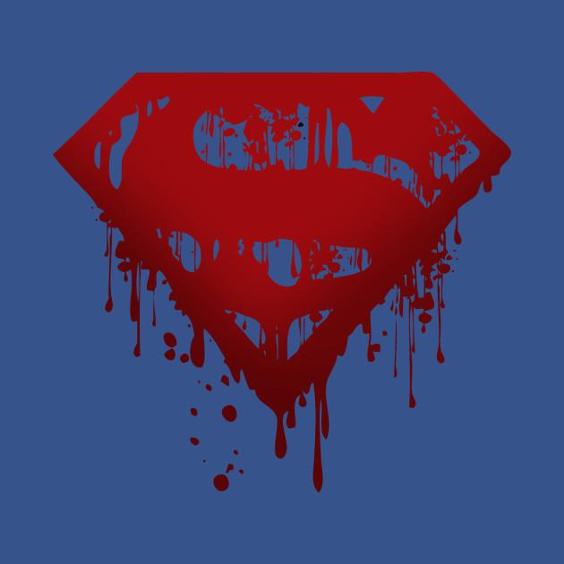 Superman Logo Drip