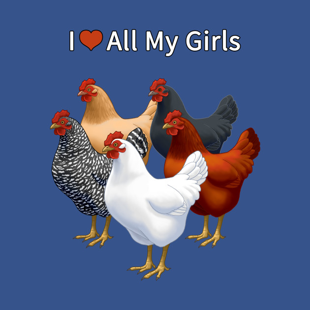 I Heart (Love) All My Girls (Hens)