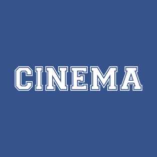 CINEMA (White)