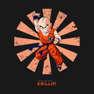 Krillin Retro Japanese Dragon Ball Z t-shirts
