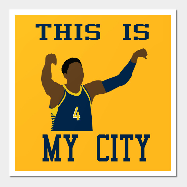 Victor Oladipo This is My City - Victor Oladipo - Posters and Art ...