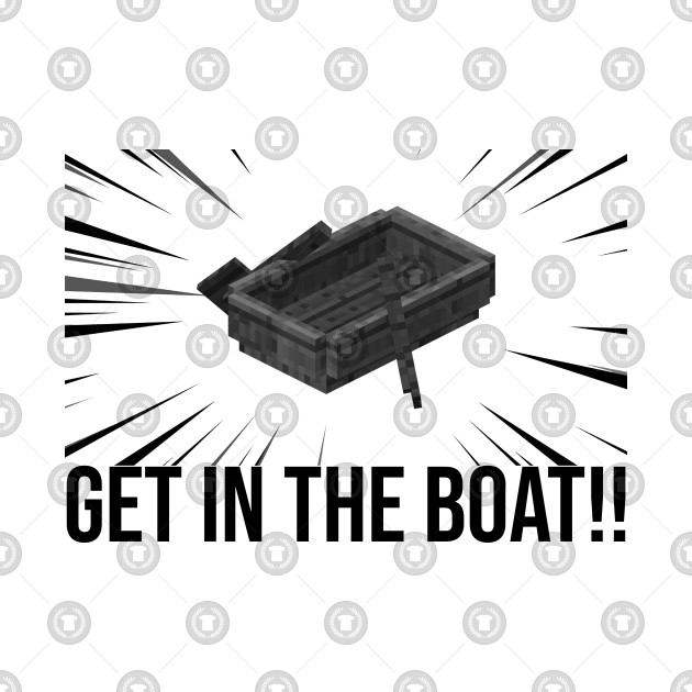 PewDiePie Minecraft Series: Get In The Boat!!