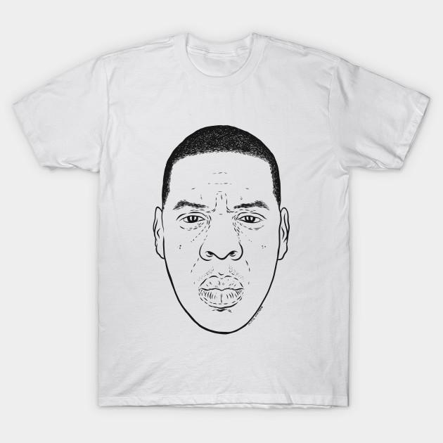 708e97e5 JAY Z - Jay Z - T-Shirt | TeePublic