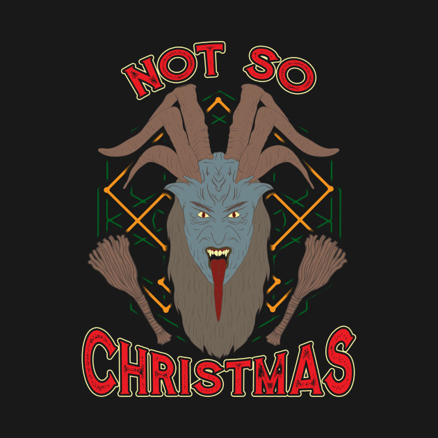 Not So Christmas Funny Devil Satanic Witchcraft