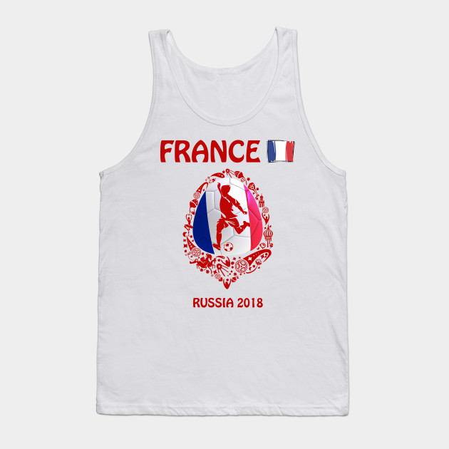 France World Cup 2018 Flag T Shirt Football Soccer Russia FIFA Adults Kids Top