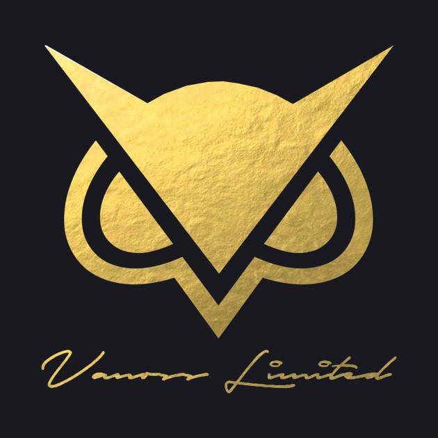 vanoss gold foil logo