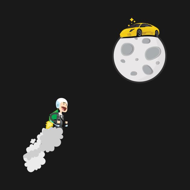 Lambo on moon - Ethereum