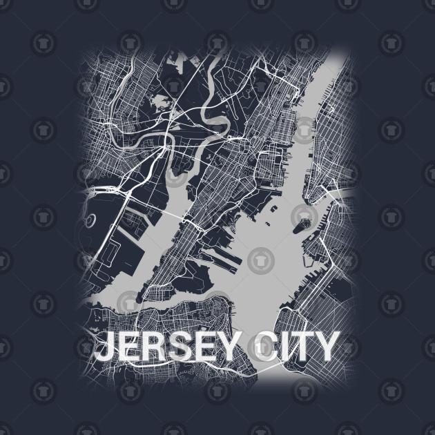 Jersey City New Jersey City Map