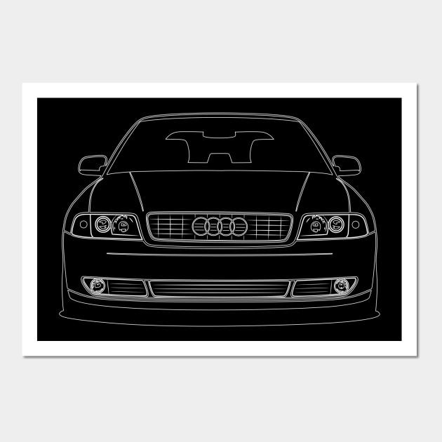 Audi A4 B5 Stencil