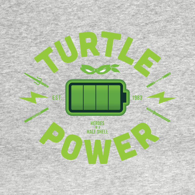 Turtle Power - Ooze green