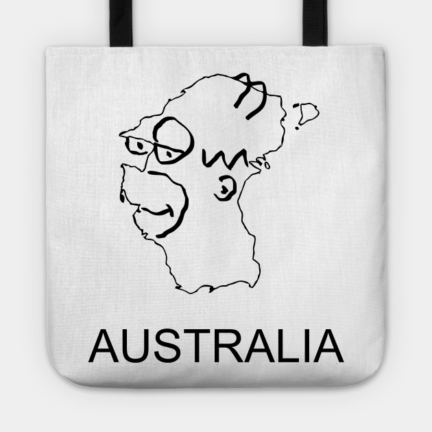 Map Of Australia Funny.A Funny Map Of Australia