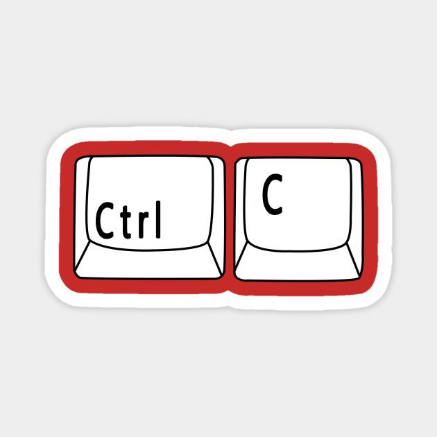 Ctrl + C - Copy