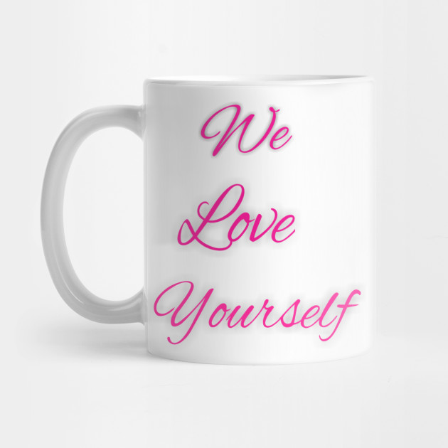We love design Mug