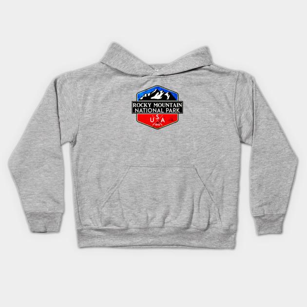 Distressed Rocky Mountain National Park Colorado Sweatshirt