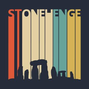 Vintage Retro 1980s Stonehenge Gift T-Shirt