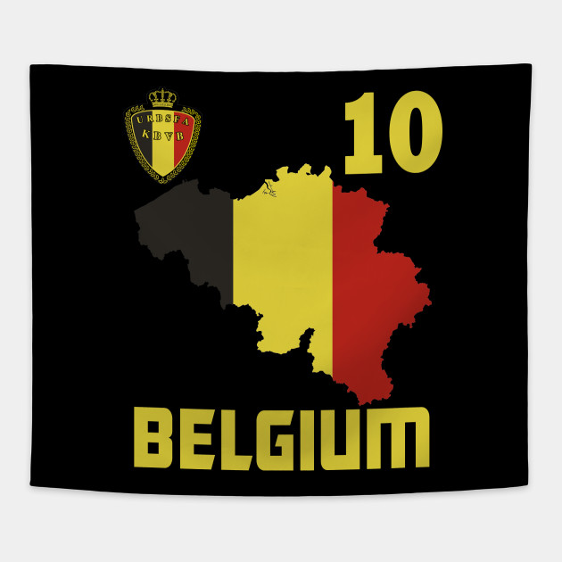 Belgie T-shirt Belgium Belgian Flag Soccer Jersey Style - Wear While ... b9fcb01ae