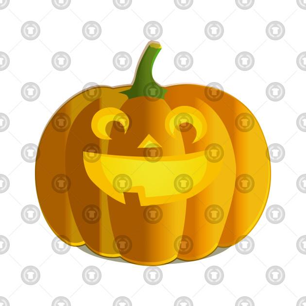 Abstract Pumpkin Design