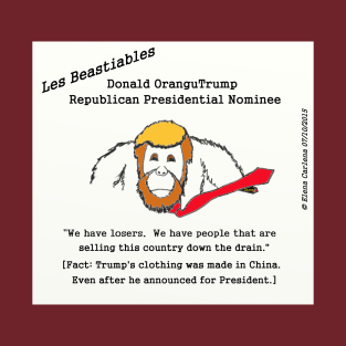 Donald OranguTrump has his clothing made in China