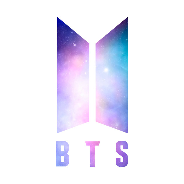 BTS galaxy design - Bts - T-Shirt   TeePublic