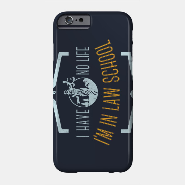 law school graduation gift future lawyer tee shirt Phone Case