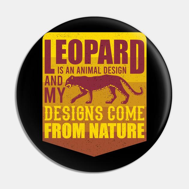 Leopard Design Wildlife Gift For Animal Lovers