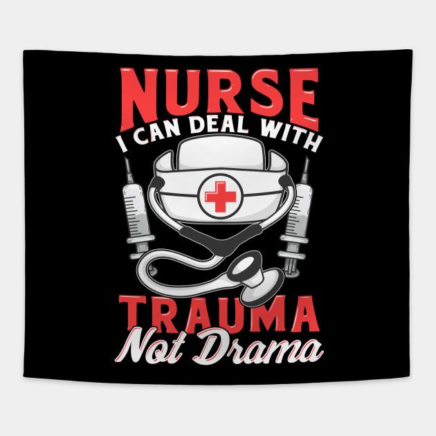 Nurse Shirts For Women Funny Nurses Birthday Gift T Shirt Tapestry