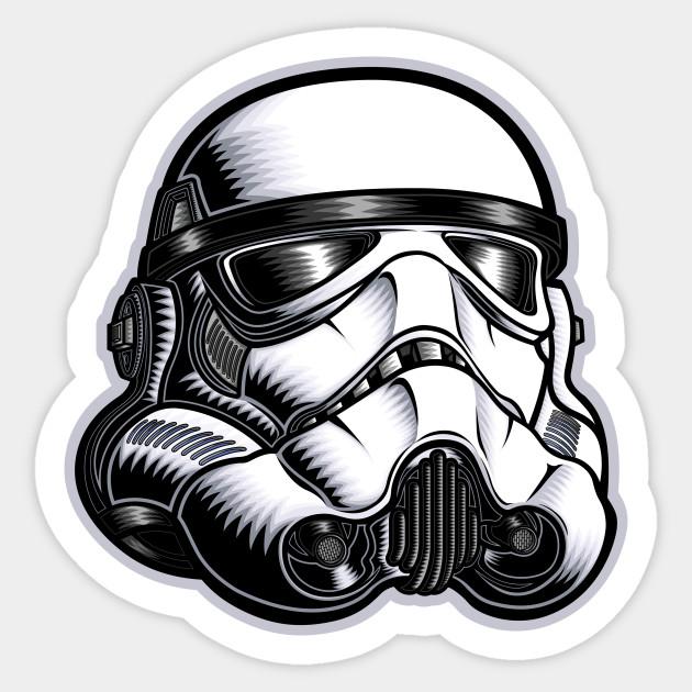 Star Wars Storm Trooper - Stormtrooper - Sticker  d575ea7292