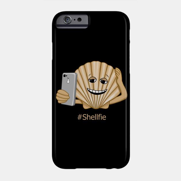 Funny Sea Shell Shellfie Selfie - Selfie - Phone Case  97554da65