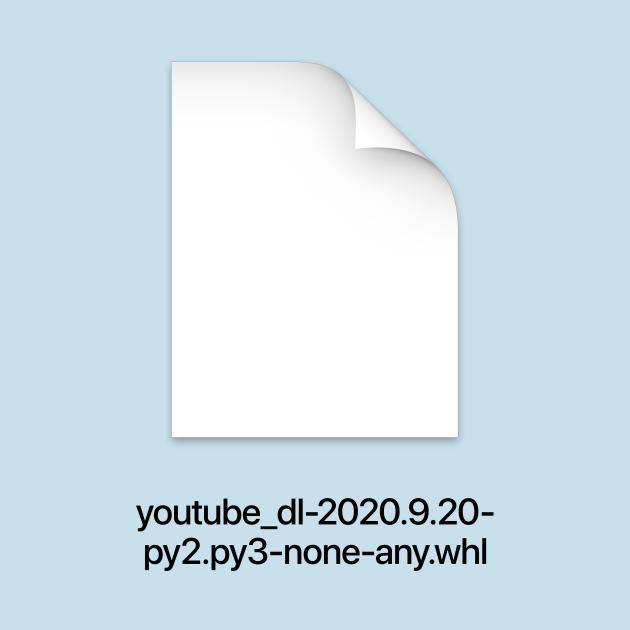youtube-dl (dark text)