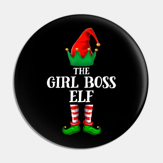 Girl Boss Elf Gift Christmas Party