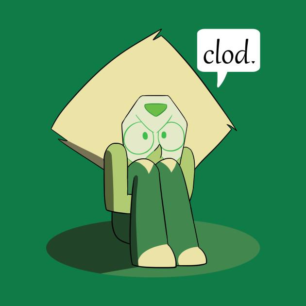Peridot Clod. - Stevenuniverse - T-Shirt : TeePublic