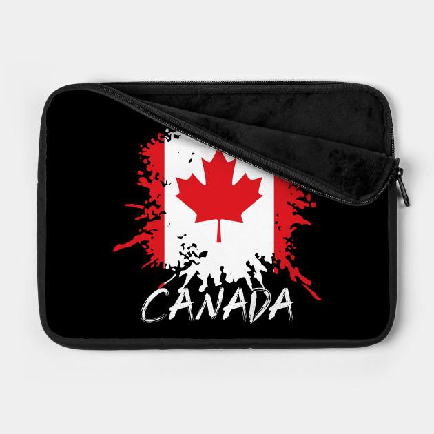 Retro Canadian Canada Flag