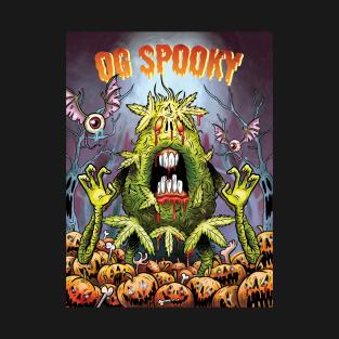 OG Spooky Halloween Bud t-shirts