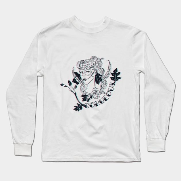 b52f723c1822 Gorgeous 3D - Goth - Long Sleeve T-Shirt