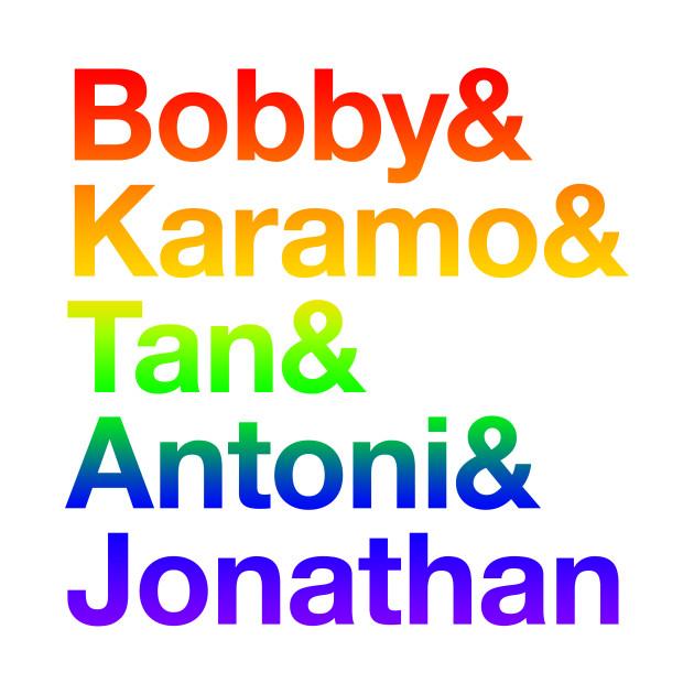 Bobby Karamo Tan Antoni Jonathan Rainbow Queer Ampersand