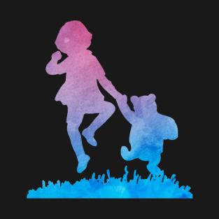 Blue Winnie t-shirts