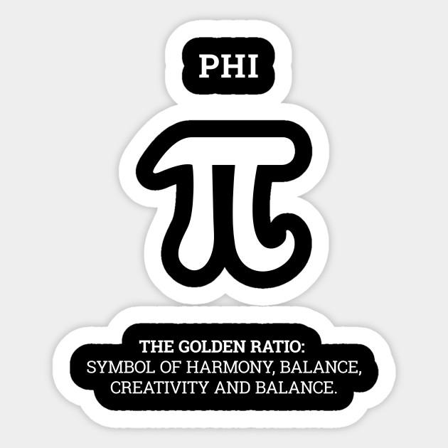 Greek Letter Phi Ironic Satire Shirt For Yoga Teachers Spiritual