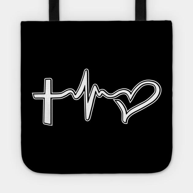 Faith Hope Love Symbols Christian Tattoo Christian Tote Teepublic