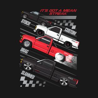 Four 454SSs t-shirts