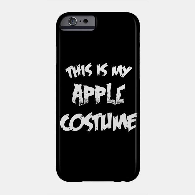 Apple Halloween Costume Gift I Halloween Party Phone Case