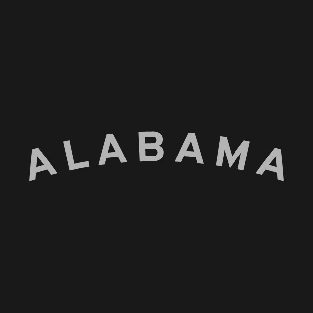Alabama Typography