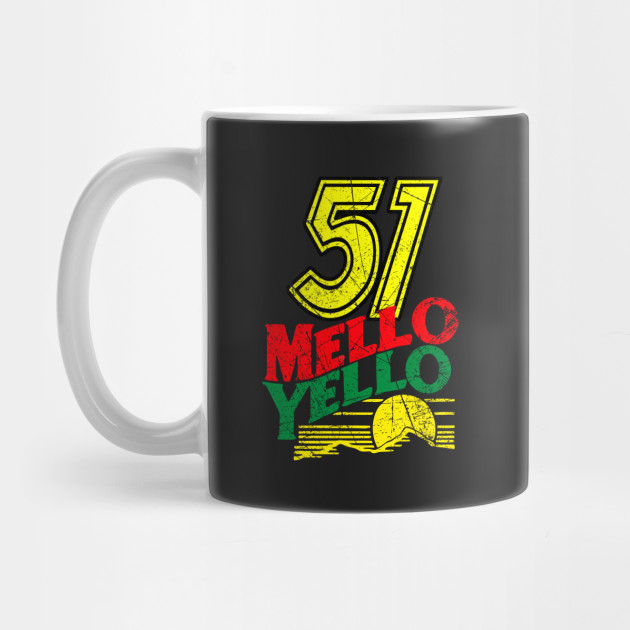 51 MELLO YELLO - DAYS OF THUNDER - DISTRESSED by ajarsbr