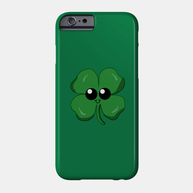 Kawaii Lucky Four Leaf Clover iphone 11 case