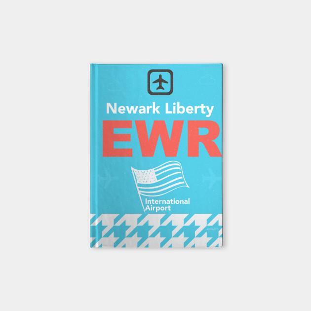 Ewr Newark Liberty Airport Code New Jersey Notebook Teepublic
