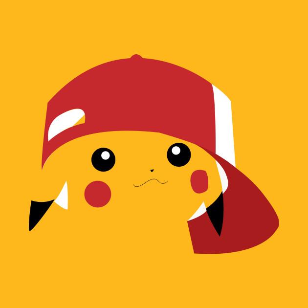 c5f3ba47 Minimalist Pikachu - Pokemon - T-Shirt | TeePublic