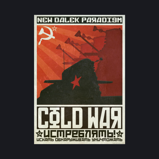 Dalek Time War Propaganda Poster