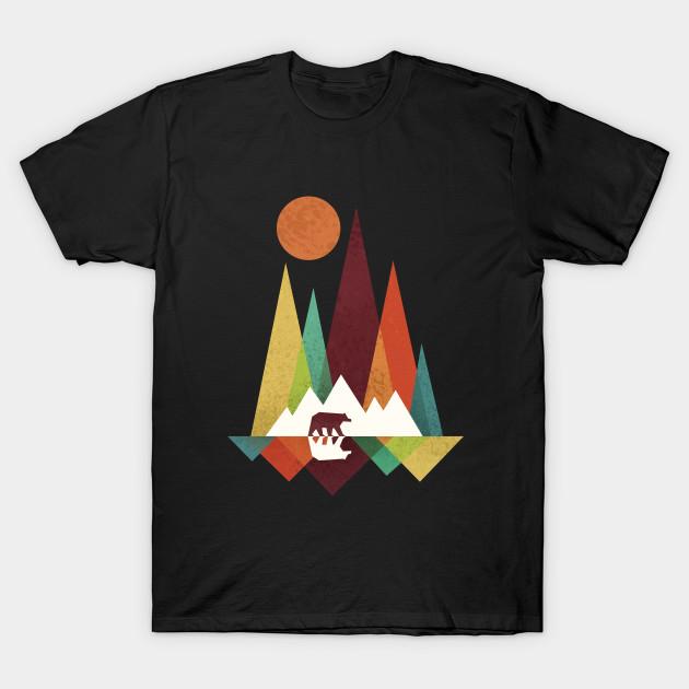 cde71ad0 Bear In Whimsical Wild - Bear In Whimsical Wild - T-Shirt | TeePublic
