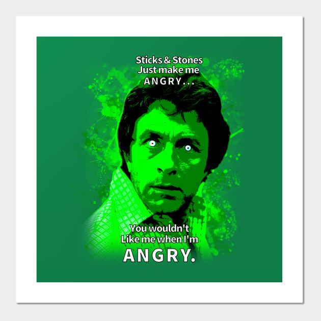 64b67d19044 Sticks   Stones - Anger Management - Posters and Art Prints
