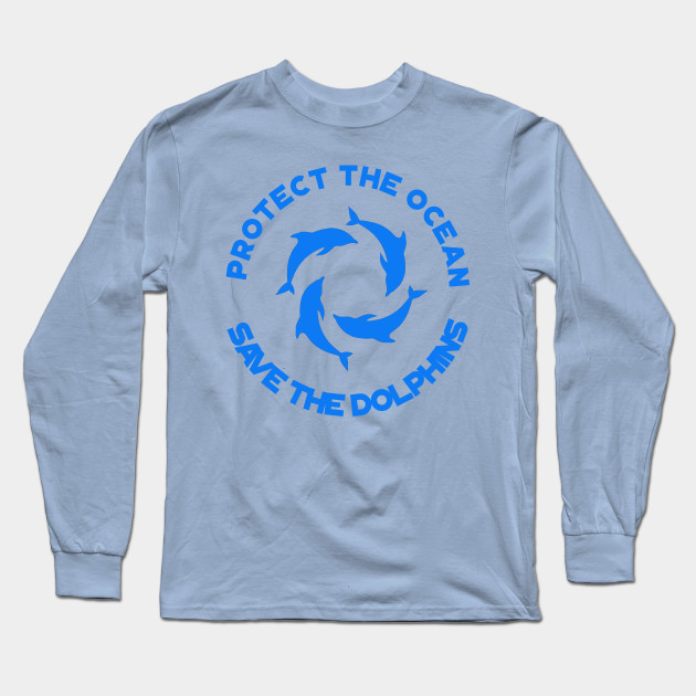 7dc971d0 Ocean Day Save the Dolphins Shirt