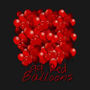 99 Red Balloons T Shirt
